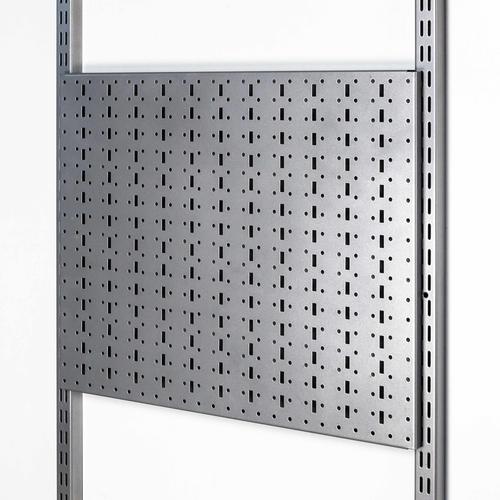Панель перфорированная 590х479мм.(серый)