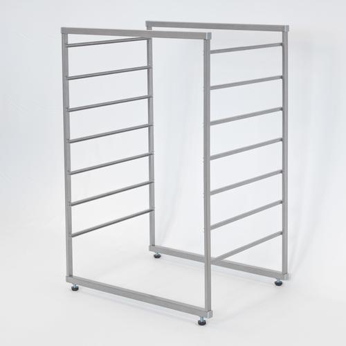 Стеллажная система 7 рельс (серый)