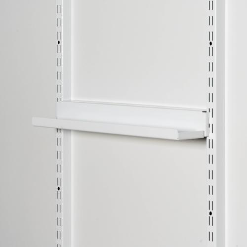 Лоток 597х55 мм, на направляющие(белый)