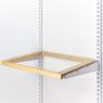 Рамка выдвижная деревянная 607х450мм.(береза)